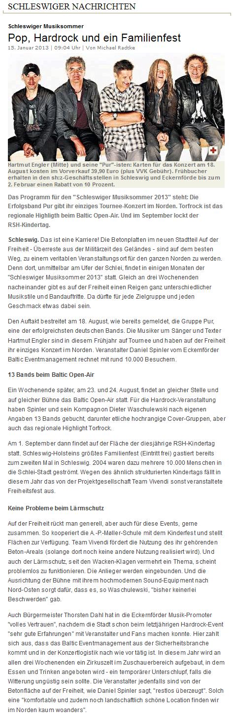 Schleswiger Nachrichten Aktuell